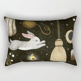 october nights Rectangular Pillow