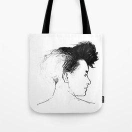 Quiff Tote Bag