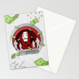Money Heist - Origami Paper Art Stationery Cards