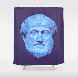 Aristotle Shower Curtain