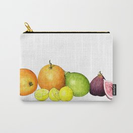 Citrus + figs Carry-All Pouch