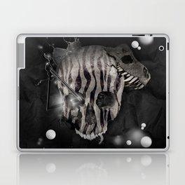 Zebra Skull Laptop & iPad Skin
