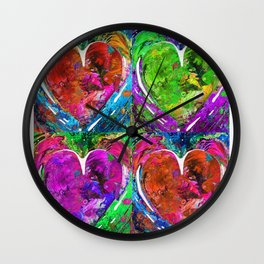Romantic Art - Completely Yours - By Sharon Cummings Wall Clock