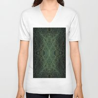 trippy V-neck T-shirts featuring Trippy by writingoverashes