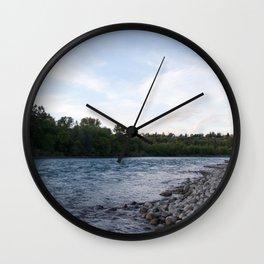 River Calgary Wall Clock