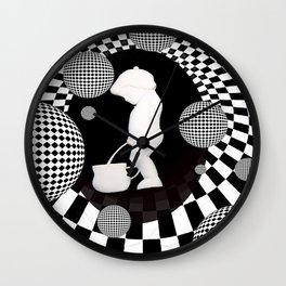 pee dream Wall Clock