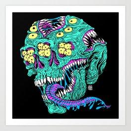 Skull Monster Art Print