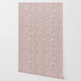 Abstract coral textures on soft paper Wallpaper