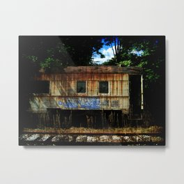 Get On Board Metal Print
