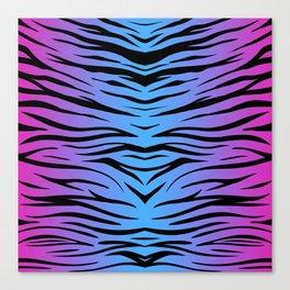 Magic Zebra Canvas Print
