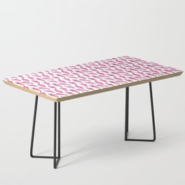 piggy pink swipers on www.white Coffee Table
