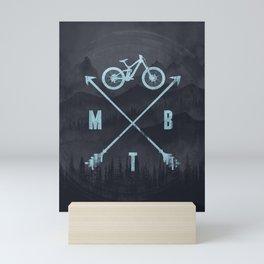 MTB Fog Mini Art Print