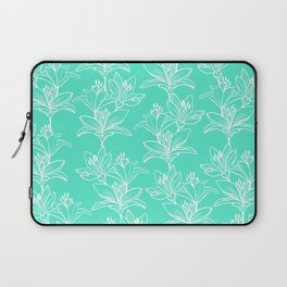 Lily Love in Mint Laptop Sleeve
