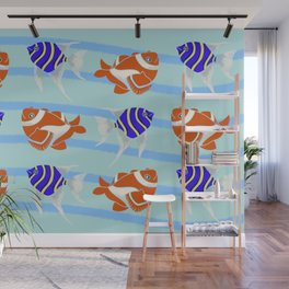 Go fish Wall Mural
