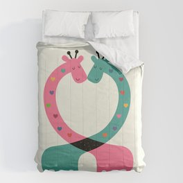 Love With Heart Comforters