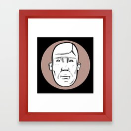 Mr. Wiig Framed Art Print