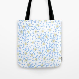 Dots and Sparkles Tote Bag