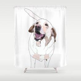 Labrador Shower Curtain