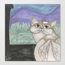Angel Cat Canvas Print