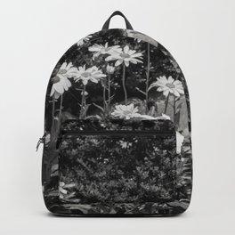 flowers in the garden, june 2018 Backpack