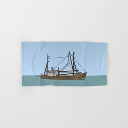 Fishing boat Hand & Bath Towel