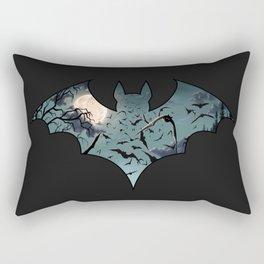 Batty Cutout Rectangular Pillow