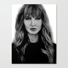 Jennifer Lawrence Canvas Print