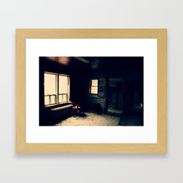 abandonment issues Framed Art Print