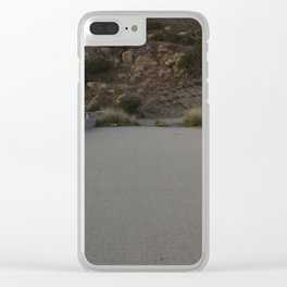 No where Clear iPhone Case