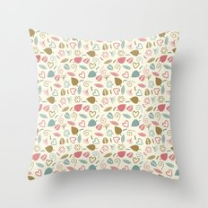 Colorful Lovely Pattern XIII Throw Pillow