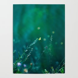 Fairy Tail - Flower on the Water - Magic Grass Poster