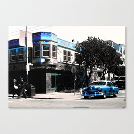 San Francisco Car Canvas Print