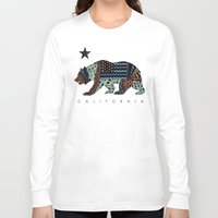 california Long Sleeve T-shirts featuring California by TAM ♡