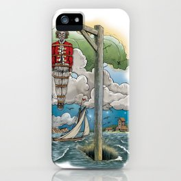 Captain Kiddless Variant iPhone Case