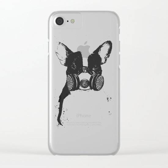 Big city life Clear iPhone Case