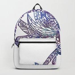 Yin Yang Lotus - Galaxy Backpack