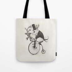 Delivery Rabbit  Tote Bag