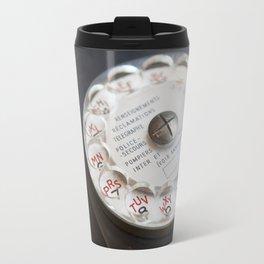 Vintage Telephone Ericson Bakelit France Travel Mug