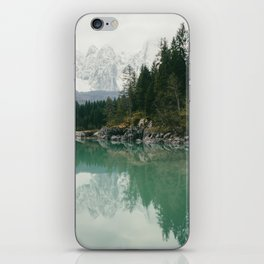 Turquoise lake - Landscape and Nature Photography iPhone Skin