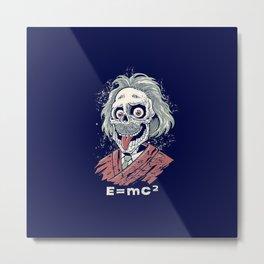 e=mc Metal Print