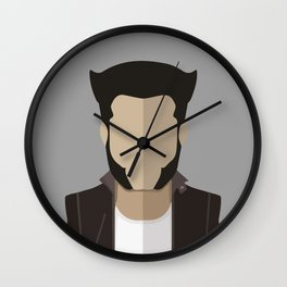 Logan, old man, Mutant Hero Wall Clock