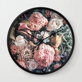 Autumn  bouquet Wall Clock