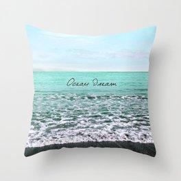 OCEAN DREAM VI Throw Pillow