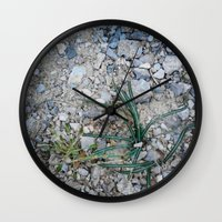 plant Wall Clocks featuring plant by gasponce