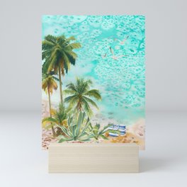 Beachside Mini Art Print