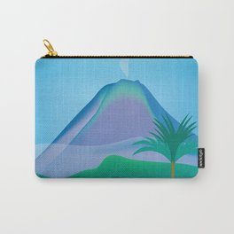 Costa Rica - Skyline Illustration by Loose Petals Carry-All Pouch