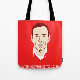 'An Ordinary Guy with Nothing to Lose' - American Beauty Poster Tote Bag