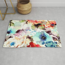 Poppies 03 Rug