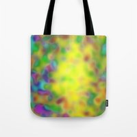 blur Tote Bags featuring Blur by Mr and Mrs Quirynen