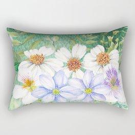 Flowers bouquet 73 Rectangular Pillow